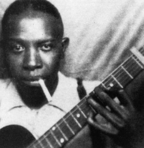 The second authenticated photo of blues legend Robert Johnson